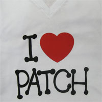Camiseta I Love Patch