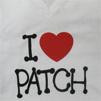 Camiseta I Love Patch