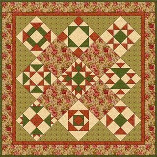 Country Craft Sampler Quilt 2011