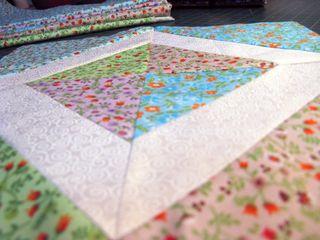 Bloco Patchwork Triângulo Perfeito