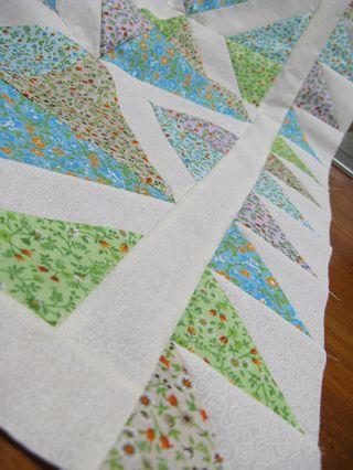Colcha para bebês feita em patchwork