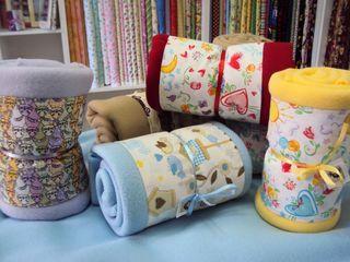 Kits de Softs, para mantinhas para bebês