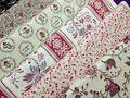 Tecidos da coleção La Belle Fleur