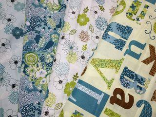 Tecidos importados da coleção Tranquility