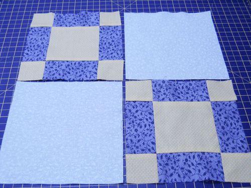 Beginner's Quilt, Passo 15